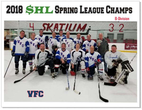 SHL Spring 2018 Champs