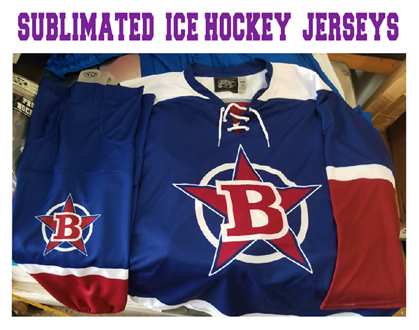 Sublimated Ice Hockey Jerseys